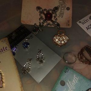 Ear rings and charms